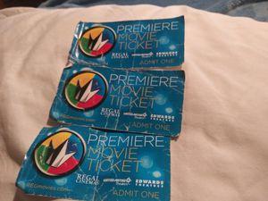 3 Premiere Movie Tickets for Sale in Seattle, WA