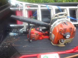 Echo Chainsaw, Stihl Backpack Blower for Sale in Miami, FL