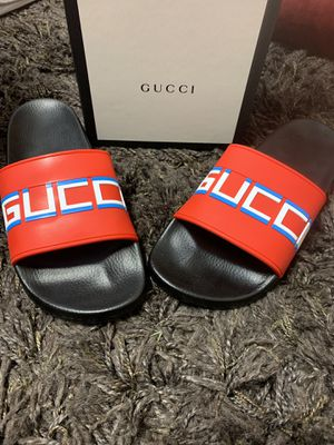 Gucci slides men's 7 women's 10 for Sale in Boyds, MD