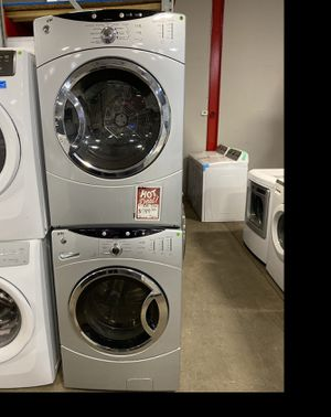 GE Silver electric washer and dryer set #941 for Sale in South Farmingdale, NY