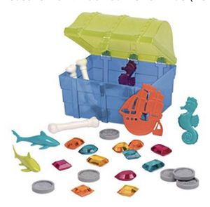 NEW! Pirate Diving Set – Assortment of 27 Pool Toys in a Storage Treasure Hunt Pool Game for Kids (28 Pcs) for Sale in Stuart, FL