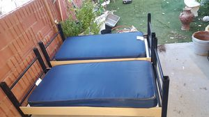 2 matching twin bed frames for Sale in Avondale, AZ