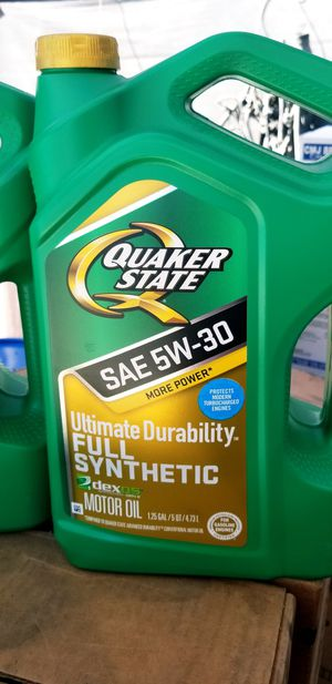 Quaker state full synthetic for Sale in Ontario, CA