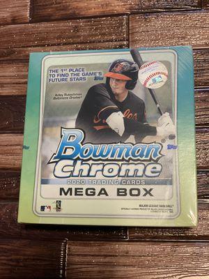 2020 Topps Bowman Chrome MLB Baseball Trading Cards Mega Box for Sale in Sacramento, CA