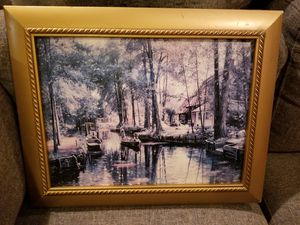 16x20 antique wooden picture for Sale in Las Vegas, NV