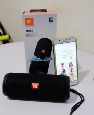 JBL FLIP 4 - Waterproof Portable Bluetooth Speaker - Black for Sale in Camden, NJ