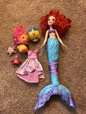 Disney Little mermaid doll for Sale in Gambrills, MD
