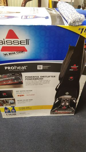 BISSELL PROHEAT DEEP CLEANING SYSTEM for Sale in Joliet, IL