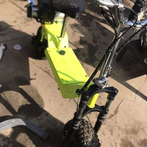 Off Road Scooter 50 Cc 2 Stroke Runs Good for Sale in Chino, CA