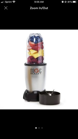 Magic Bullet Personal Blender - 3pc Set for Sale in NJ, US