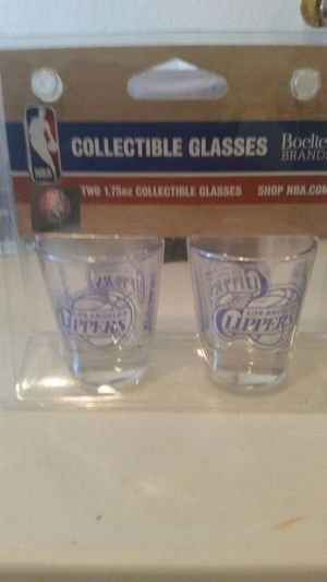 NBA Collectible Shot Glasses Los Angeles Clippers for Sale in Las Vegas, NV