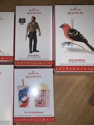Hallmark keepsake Christmas ornaments for Sale in San Antonio, TX