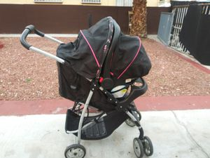 Graco lite ride click connect stroller carseat combo for Sale in Las Vegas, NV