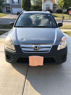 2006 Honda CRV LX for Sale in Carol Stream, IL