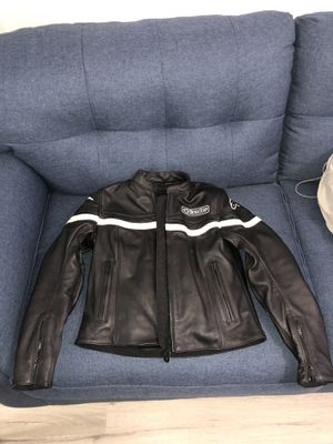 Alpinestars Stella Womens Leather Motorcycle Jacket - Size 4 for Sale in Orange, CA