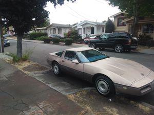1984 corvette stick shiff Trade for box chevy for Sale in Oakland, CA