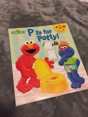 Brand new Elmo potty training book for Sale in Menifee, CA