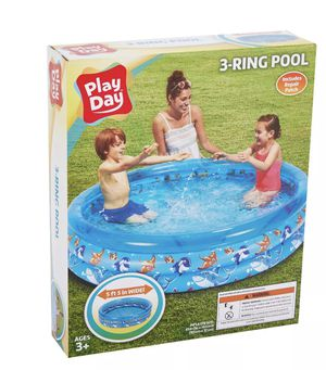 3 Ring Blue pool (ages 3+) for Sale in Springfield, VA