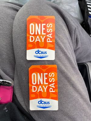 One Day Pass - OCTA for Sale in Lake Forest, CA