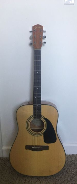 Fender CD-60S Acoustic Guitar W/ Case for Sale in Miami, FL