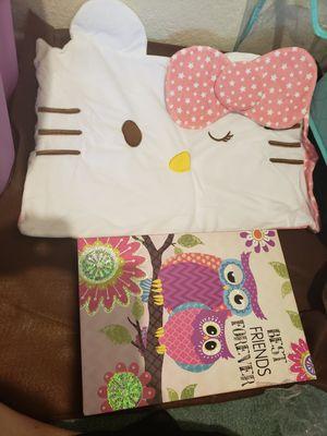 Hello Kitty Lamp w/Girl's Bedroom Decor for Sale in Las Vegas, NV