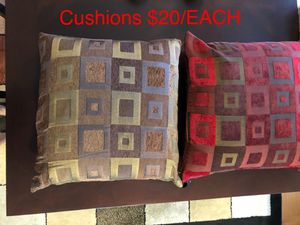 Decorative Pillows/ Cushions for Sale in Fairfax, VA