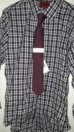 Bergamo New york fitted and Mk tie for Sale in Adelphi, MD