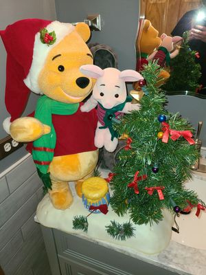 Christmas disney animated pooh for Sale in Bolingbrook, IL
