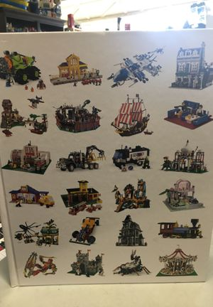 Lego Book showing lego sets from 1950 to 2015 for Sale in Huntington Beach, CA