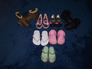 Toddler girls shoes size 3-4 for Sale in Buffalo, NY
