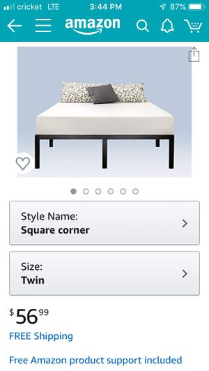 Twin bed platform 14 inch tall for Sale in San Leandro, CA