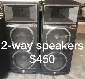 PEAVEY 2way Bi-Amp for Sale in Wimauma, FL