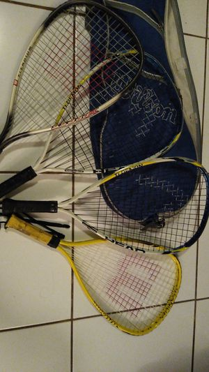 Wilson bag with rackets for Sale in Hollywood, FL