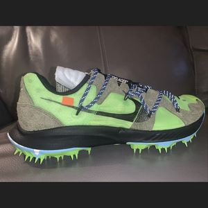 Nike Off White Zoom Terra Kiger Size 10 M/ 11.5 W Green for Sale in Hollywood, FL
