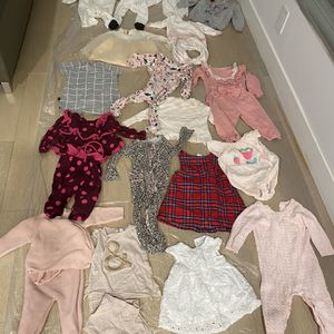 Hundreds Of Dollars Of Baby Girl Clothes Swip All Photos To See All Outfits for Sale in Los Angeles, CA