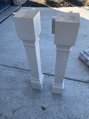 Kitchen island pillars for Sale in Fort Worth, TX