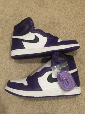 Jordan 1 Court Purple Size 10.5 for Sale in Denver, CO
