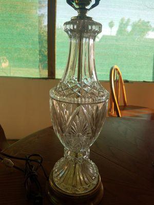 Glass lamp for Sale in Phoenix, AZ