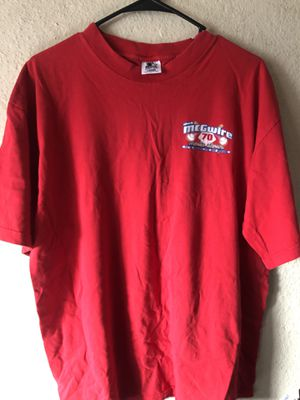 Vintage Mark McGwire starter T-shirt for Sale in San Diego, CA