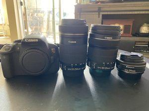 Canon t5i rebel for Sale in Tacoma, WA