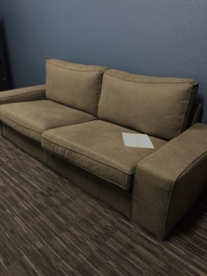 IKEA Kivik couch in gray-green for Sale in Mountain View, CA