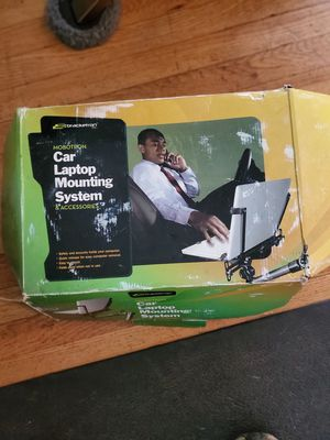 Laptop mounting system for vehicle for Sale in McAllen, TX