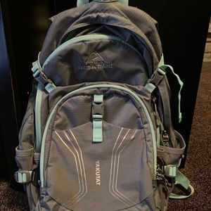 Medium Gray and Aqua Blue Sport Backpack for Sale in Racine, WI