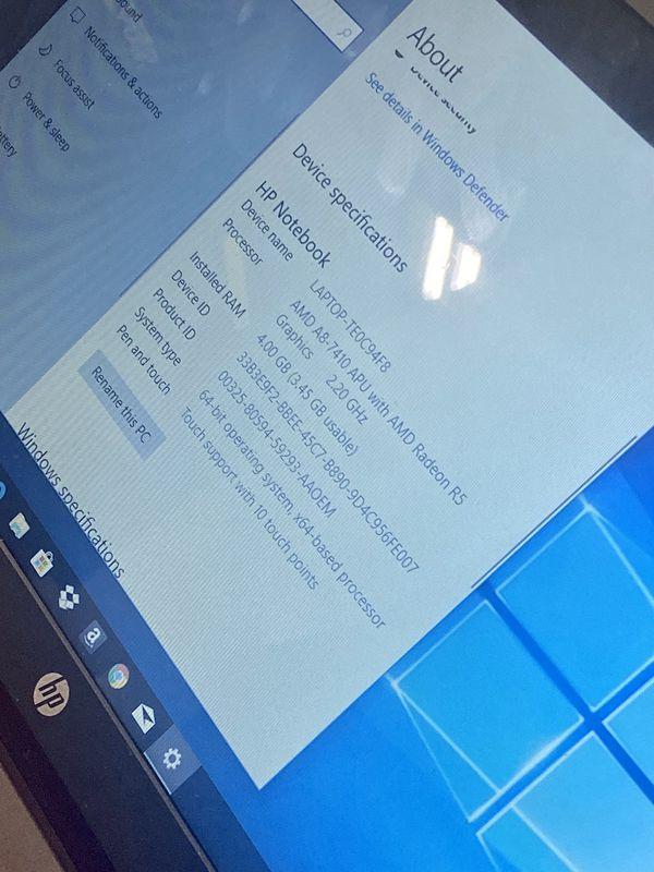 HP Notebook 15-ba000