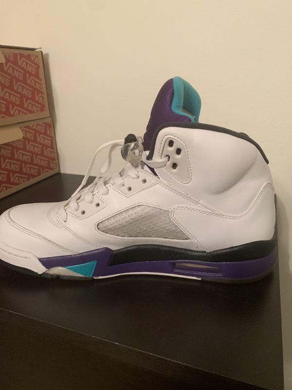 Air Jordan 5 Grape