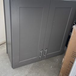 Gray Wall Mounted Cabinet Soft Close for Sale in City of Industry,  CA
