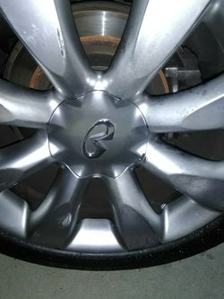 Infinity Stock 18 Rims Scratch Only for Sale in Montebello,  CA