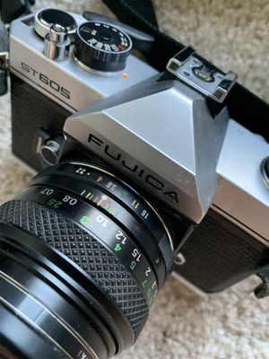 FUJICA ST605 Film Camera with 49mm lens & flash for Sale in Columbus, OH