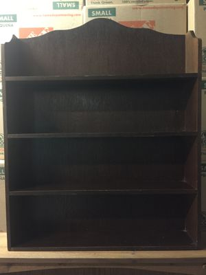 Old Shelving unit for your collectibles for Sale in Silverdale, WA