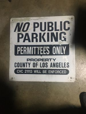 No parking sign for Sale in Azusa, CA